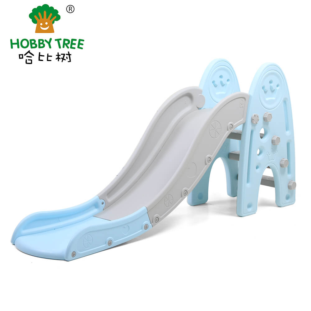 crown theme indoor plastic kids slide WM19003