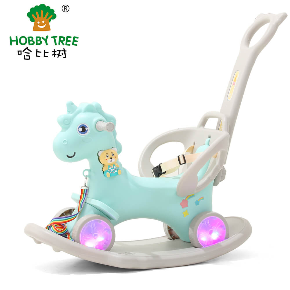 plastic rocking horse  for kids  WM19031