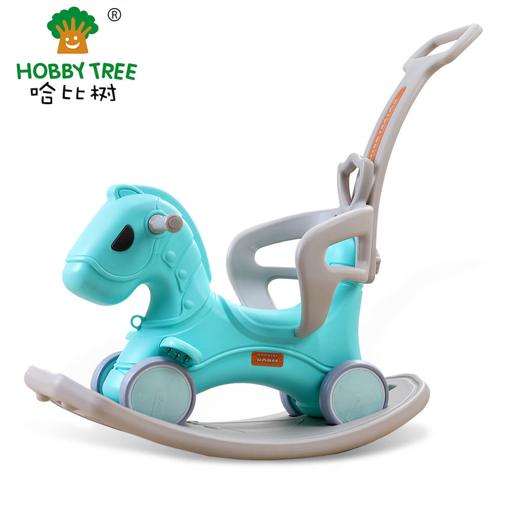 plastic rocking horse  for kids WM19032