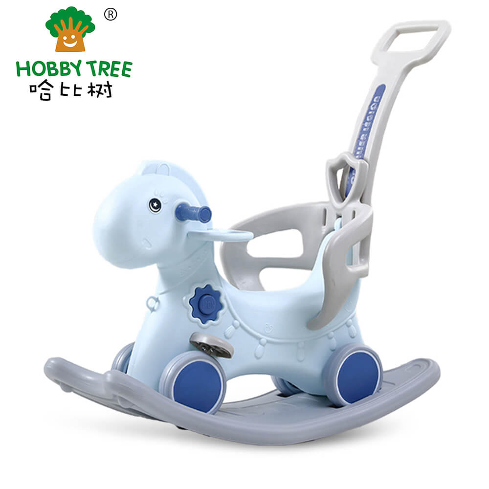 plastic rocking horse  for kidsWM19033