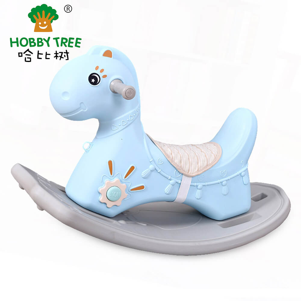 Plastic rocking horse  for kids WM19034